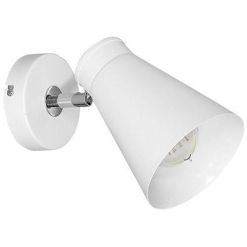 Kinkiet lampa ścienna bevan 1x60w e27 biały 5026 marki Luminex