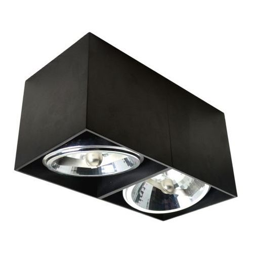 Zuma line Lampa natynkowa spot box ii czarny 90433 + rabat w koszyku! - czarny \ 2