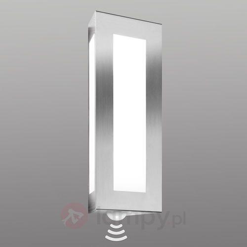Lampa ścienna zewnętrzna Lija z czujnikiem (4260045640777)