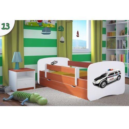 Łóżko dziecięce Kocot-Meble BABYDREAMS - Policja - Kolory Negocjuj Cenę