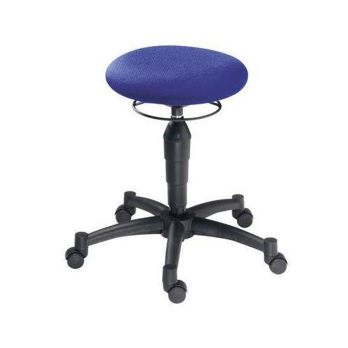 Taboret balance, Ø siedziska 360 mm, błękit królewski. ćwiczenia kręgosłupa w pa marki Topstar