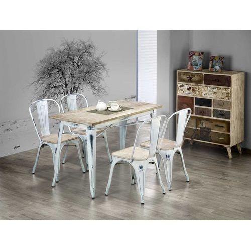 MAGNUM stół prostokąt retro white