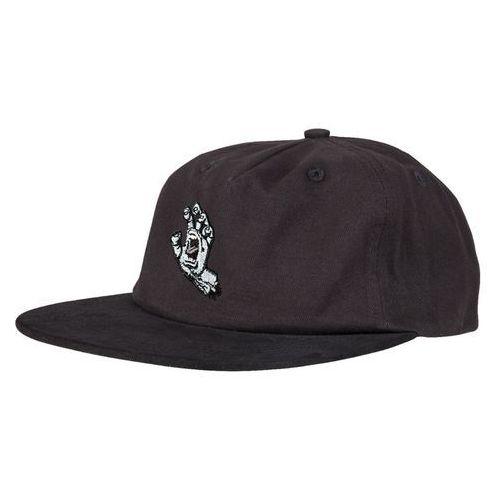 Santa cruz Czapka z daszkiem - screaming mono hand cap black (black) rozmiar: os