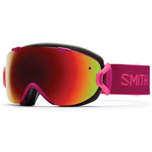 Smith Gogle snowboardowe - i/os fuchsia static red sol-x mirror (xa6-99c1)