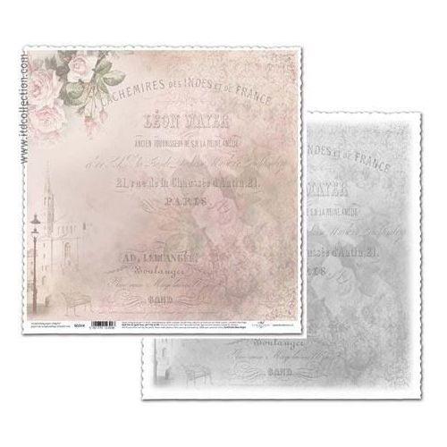 Papier ozdobny do scrapbookingu 315x325 mm - 514 - 514 marki Itdcollection