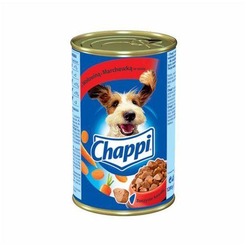 Chappi z wołowiną i marchewką 12x1200g (5900951018190)