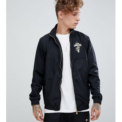 New Era Cleveland Cavaliers track jacket in black exclusive to asos - Black
