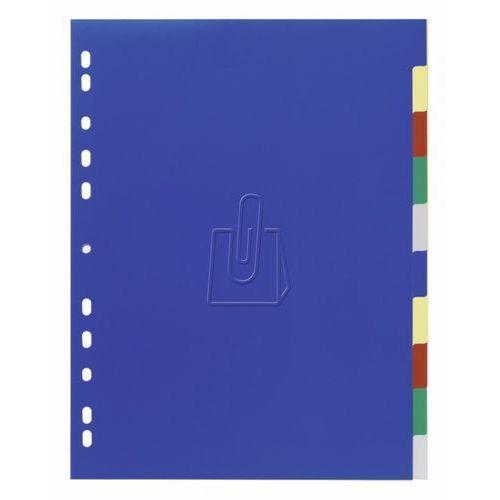 Durable Przekładki do segregatora  a4 10 stron 5-kolorowe 6747-27
