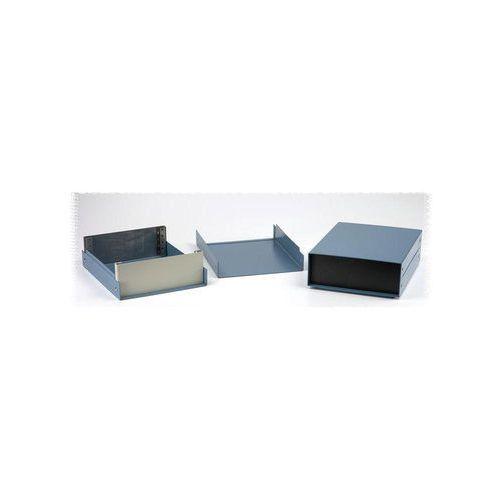 Obuowa urządzeń 1458E4B Hammond Electronics 1458E4B aluminium Niebieski 254 x 203 x 101 1 szt. z kategorii Pozostała elektryka
