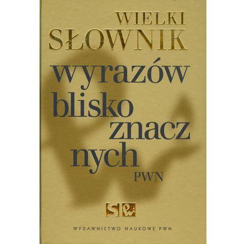 Wielki słownik wyrazów bliskoznacznych PWN+CD (1012 str.)