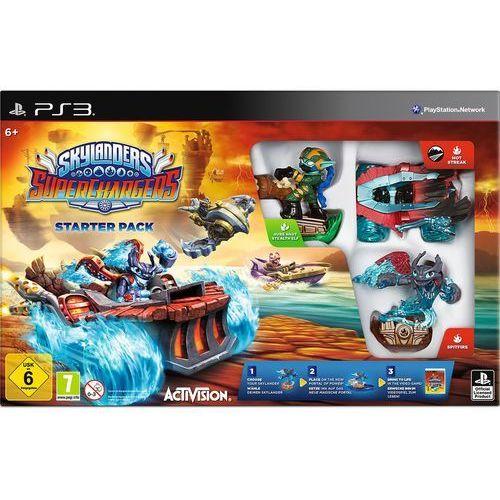 Activision Skylanders SUPERCHARGERS STARTER PACK PS3 z kategorii Akcesoria do PlayStation 3