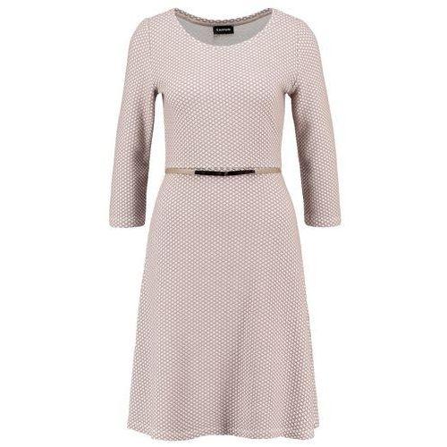 Rozkloszowana żakardowa sukienka, rozkloszowana