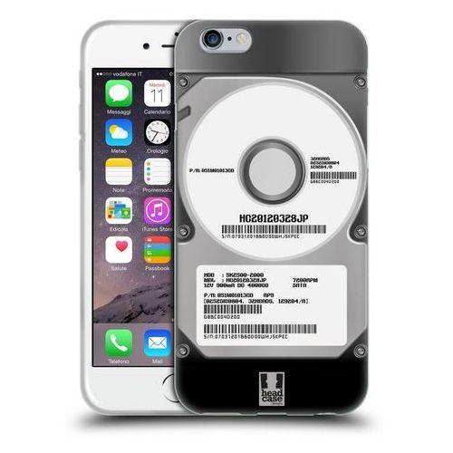 Etui silikonowe na telefon - hard disk drives silver marki Head case