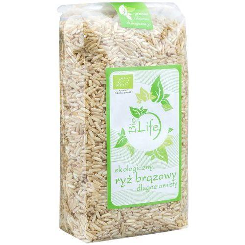BIOLIFE 1kg Ryż brązowy długoziarnisty Bio | DARMOWA DOSTAWA OD 200 ZŁ, kup u jednego z partnerów