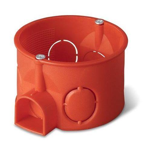 Puszka podtynkowa 60 zwykła łączona 0203-00 pomarańczowa Elektro-Plast