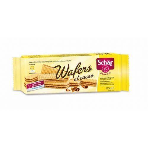 Wafers cacao-wafle z kremem kakaowym BEZGL. 125 g - Schar (8008698001882)