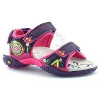 Sandały dla dzieci American Club 1232 - Fioletowy ||Fuksja, kolor fioletowy