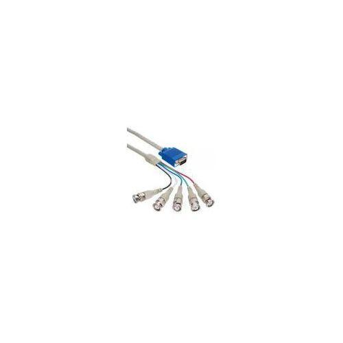Inline 1x 15 pin wtyczka HD / wtyczka 5x BNC - 1m - produkt z kategorii- Kable video