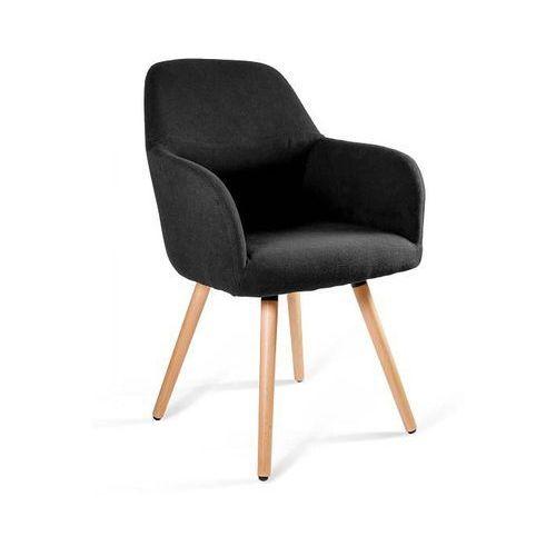 Krzesło UNIQUE LINE czarny - styl skandynawski - ZŁAP RABAT: KOD20, 2-156-MZ4