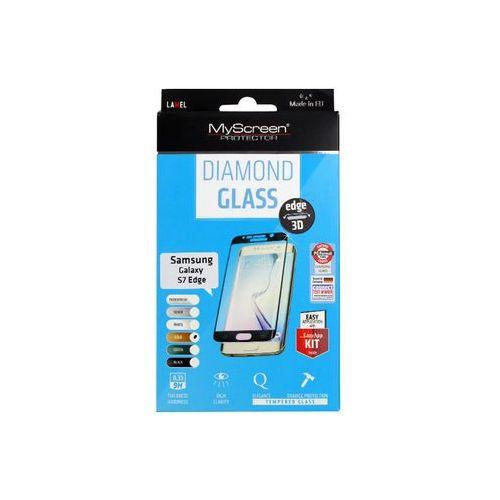 Myscreen protector Samsung galaxy s7 edge - szkło hartowane diamond glass edge 3d - białe