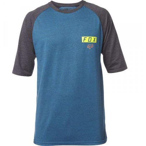 moth ss raglan heather maui blue t-shirt marki Fox