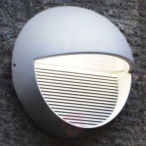 Lampa ścienna zewnętrzna LED ECO-Light 1865 SI, 3x1 W, LED wbudowany na stałe, 117 lm, 4100 K, IP54, (Ø) 16.5 cm