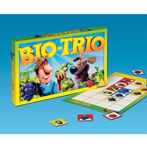 Piatnik , gra edukacyjna bio-trio