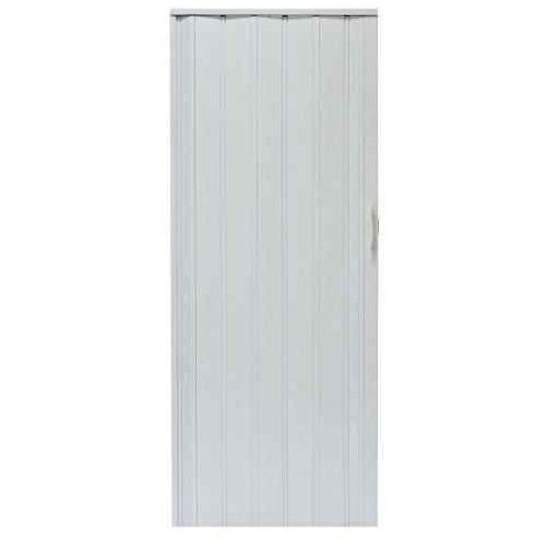 Drzwi harmonijkowe 008p 49 biały dąb mat g 80 cm marki Gockowiak