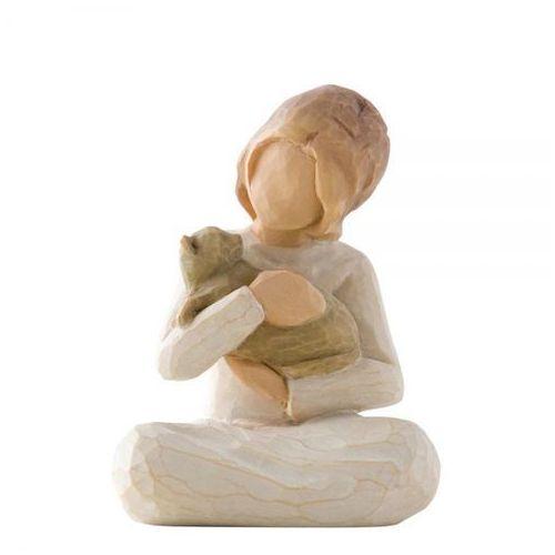 """Willow tree Dziewczynka z kotkiem """"życzliwość"""" kindness (girl) 26218 susan lordi"""