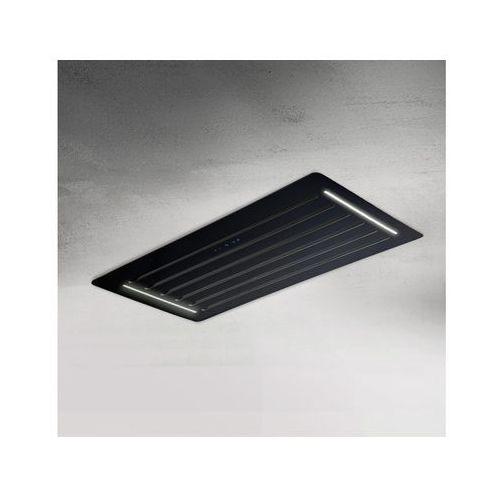 Afrelli Okap sufitowy ideal sofito czarny 96 cm, 805 m3/h