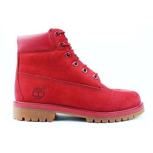 Timberland Buty damskie 6 premium waterproof a13hv red / czerwony - czerwony