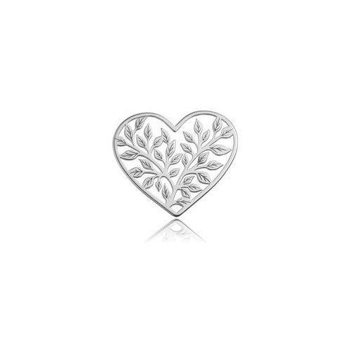 Zawieszka/łącznik ozdobny - serce ażurowe, srebro 925 bl 273 od producenta 925.pl