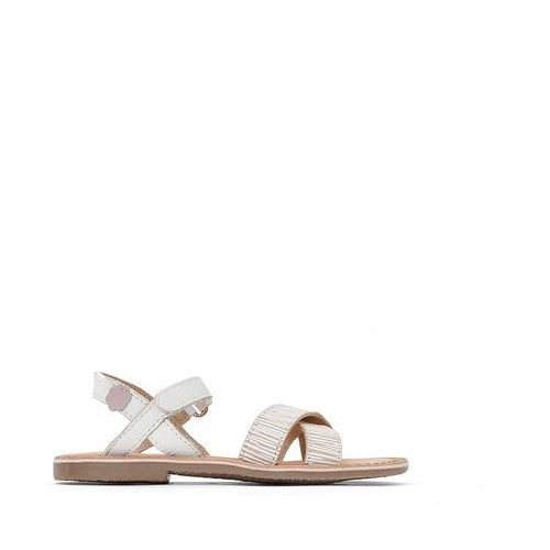 Aster Skórzane sandały canissa