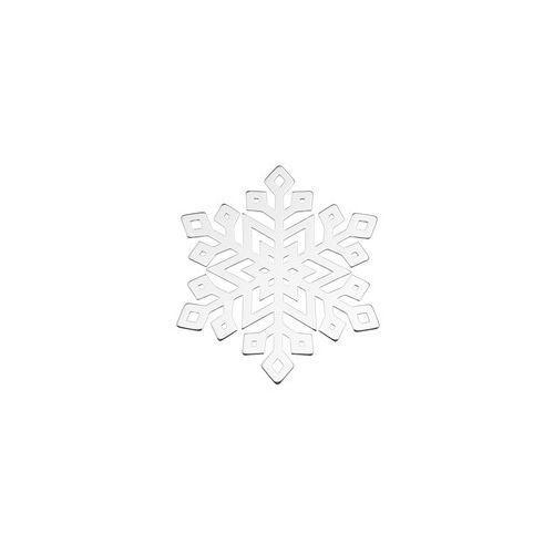 925.pl Duża zawieszka - płatek śniegu, śnieżynka, srebro próba 925 big bl 7