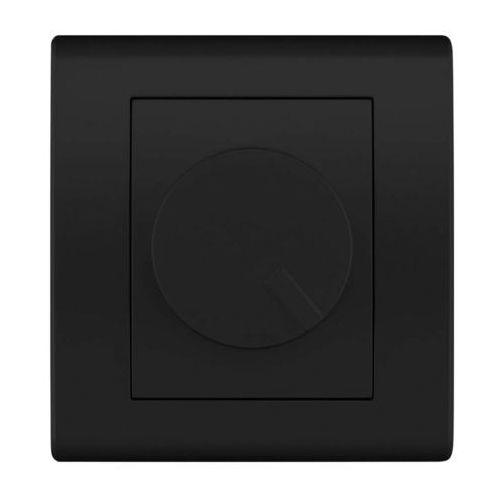 Elektro Plast Catrin - Ściemniacz obrotowy 400W czarny - 2117-19 z kategorii Włączniki
