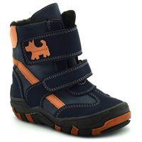 Buty zimowe dla dzieci marki 04560 kobalt marki Kornecki