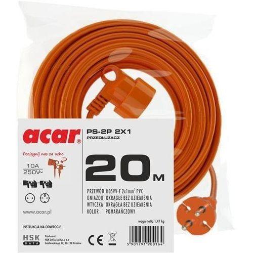 Acar Przedłużacz ps-2p 2x1 (20m)