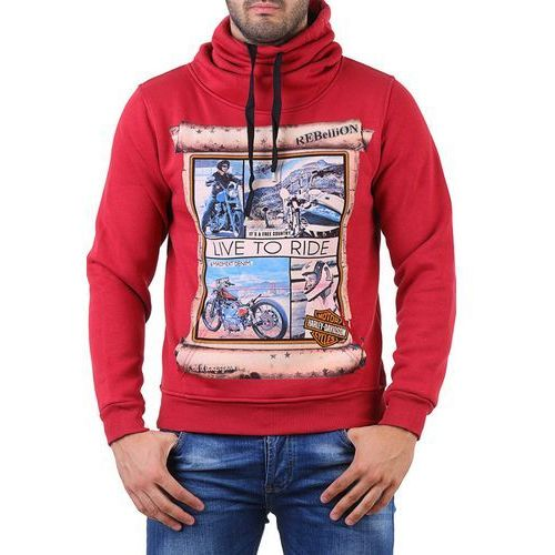 Bluza męska GOTY RED, 1 rozmiar