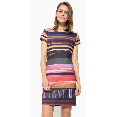 Desigual sukienka damska Second XL wielokolorowy