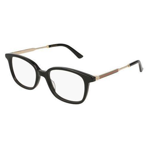 Gucci Okulary korekcyjne gg 0202o 001