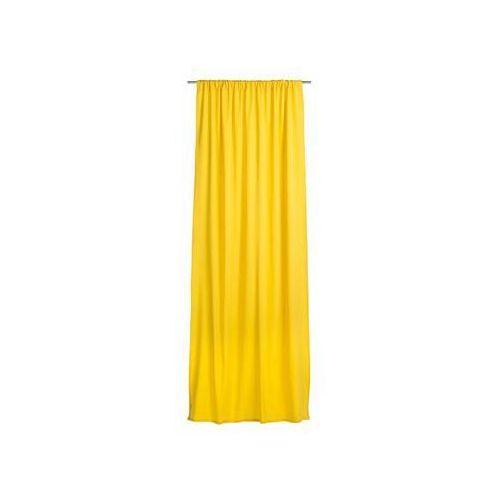 Zasłona gotowa ELEMA kolor Żółty 140 x 280 cm Taśma marszcząca 205 g/m² INSPIRE