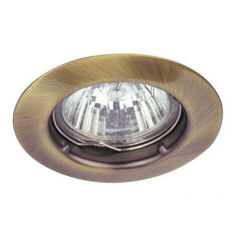 Oczko lampa sufitowa oprawa wpuszczana Rabalux Spot relight 1X50W GU 5.3 brąz 1090, 1090