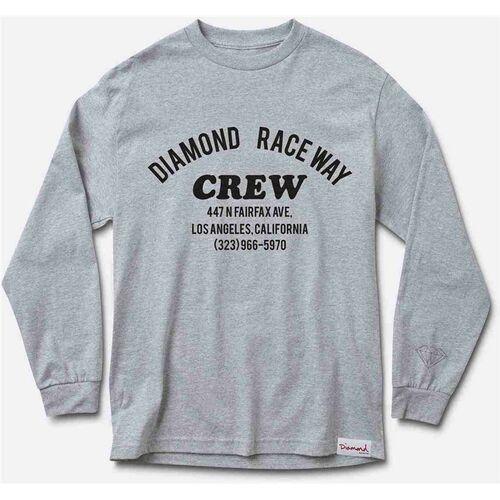 Koszulka - raceway heather grey *do not use* (hegy) rozmiar: xxl marki Diamond