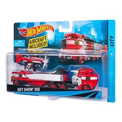 Hot Wheels BDW51 Ciężarówka + samochód