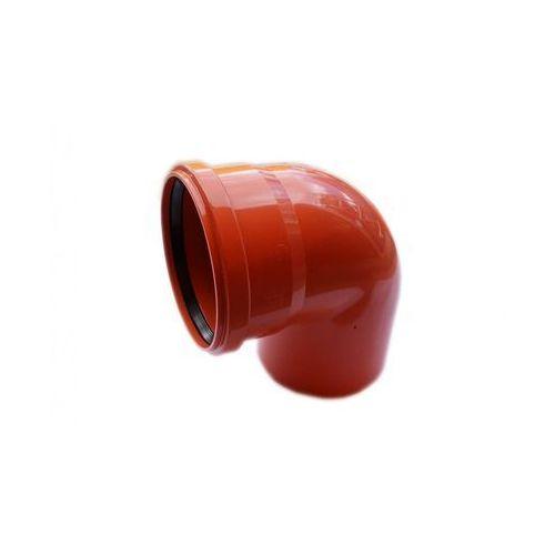 Kolano kanalizacji zewnętrznej 160 mm/87° POLIPLAST (5907660707162)