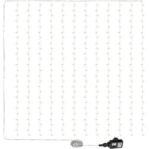 Voltronic ® Kurtyna świetlna zwisające lampki sople 3x6m 600 diod (4048821745775)