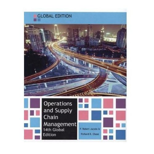 Operations & Supply Chain Management Glo (9780077151621)