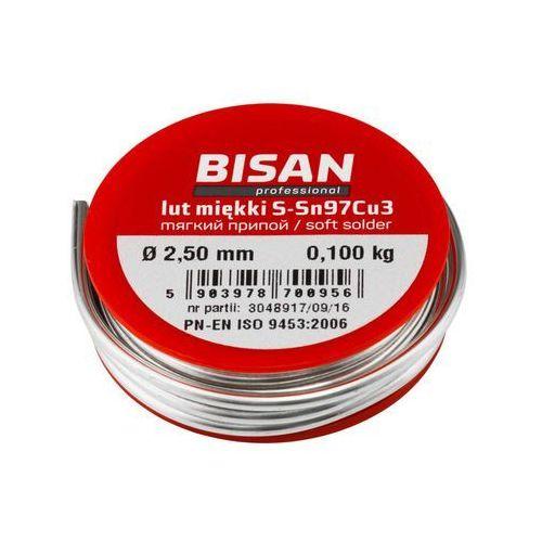 Rolka drutu lutowniczego 2.5 mm 100 g marki Bisan