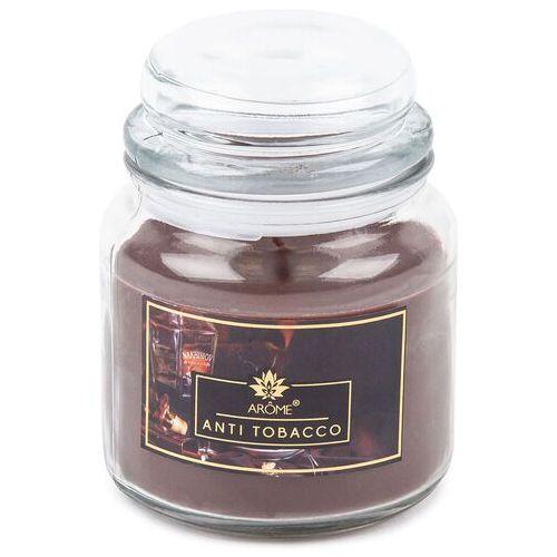 Arome Duża świeczka zapachowa w szkle Anti-Toba cco, 424 g, 691379