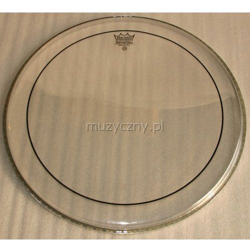 ps-1320-00 pinstripe 20″ przeźroczysty, naciąg perkusyjny marki Remo